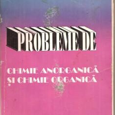 (C5619) PROBLEME DE CHIMIE ANORGANICA SI CHIMIE ORGANICA DE STEFAN ILIE SI MARIN IONICA, PENTRU CLASELE A IX-A SI A X-A, EDITURA FASTPRINT, 1996 - Carte Chimie