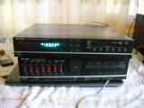Sharp Amplificator SM 207 cu egalizator grafic si stereo sintetizator  ST 207, 161-200W