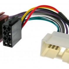 CABLU CONECTOR MUFA ADAPTOR ISO PENTRU DACIA RENAULT DUSTER LOGAN SANDERO MEGANE - Conectica auto