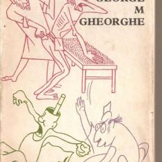 (C5578) HIPOCRATE SE AMUZA DE GEORGE M. GHEORGHE, EDITURA MEDICALA, 1980 - Carte Antologie