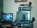 Camera video Sony Handycam DCR-VX2100E, Mini DV, CCD, 10-20x