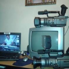 Camera video Sony Handycam DCR-VX2100E, 2-3 inch, Mini DV, CCD, 10-20x