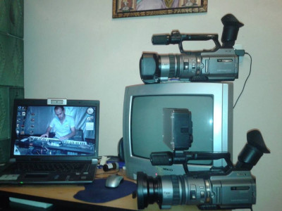 Camera video Sony Handycam DCR-VX2100E foto