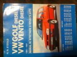 Manual de intretinere service H.Etzold WV GOLF VENTO DIESEL 1991/1997, Circulata, Printata