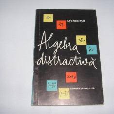 Algebra distractiva  I Perelman,RF7/1