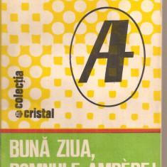 (C5570) BUNA ZIUA, DOMNULE AMPERE DE TOMAS BOREC, EDITURA ALBATROS, 1986 - Carte Fizica