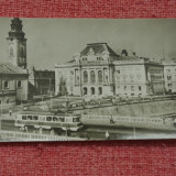 Carte postala --- Oradea - Piata Victoriei - circulata