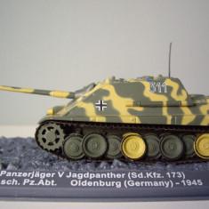 Macheta tanc Panzerjager V Jagdpanther - Germany - 1945 scara 1:72 - Macheta auto
