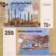 YEMEN 250 rials 2009 UNC!!!