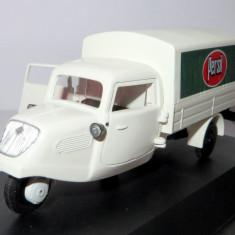 SCHUCO camioneta 3 roti TEMPO - reclama PERSIL serie lim 1, 000 buc 1:43 - Macheta auto