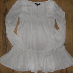 SUPER PRET! Tunica/ bluza /Ie French Connection Sz S bumbac model superb !