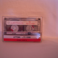 Vand caseta audio TDK-D-90,originala,raritate!