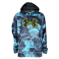 Under Armour Armour Fleece Storm Big Logo Hoodie - Men's | Produs original | Se aduce din SUA | Livrare in cca 10 zile lucratoare de la data comenzii