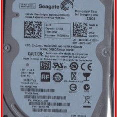 HDD 320 GB SATA Seagate Momentus Thin 7200 nou sigilat - HDD laptop Seagate, 300-499 GB