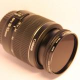Obiectiv CANON EF-S 18-55 DC III + filtru Marumi ND8