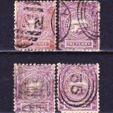 Timbre NEW SOUTH WALES (AUSTRALIA) 1888 = ANIV. 100 ANI COLONIE BRITANICA, 1 penny VIOLET