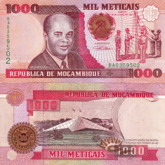 MOZAMBIC 1.000 meticais 1991 UNC!!! - bancnota africa