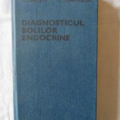 """""""DIAGNOSTICUL BOLILOR ENDOCRINE"""", B. Ionescu / C. Dumitrache, 1988 - Carte Diagnostic si tratament"""
