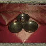 Vas centru de masa center piece, antique, placat cu argint - Metal/Fonta