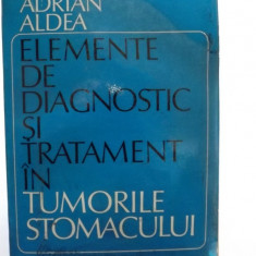 ELEMENTE DE DIAGNOSTIC SI TRATAMENT IN TUMORILE STOMACULUI - ADRIAN ALDEA - Carte Gastroenterologie