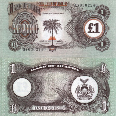 BIAFRA 1 pound ND 1968-69 UNC!!!