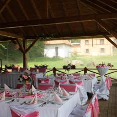 Huse tafta alba - Decoratiuni nunta
