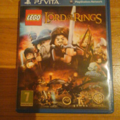 JOC PS VITA LEGO THE LORD OF THE RINGS ORIGINAL / STOC REAL in Bucuresti / by DARK WADDER - Jocuri PS Vita, Actiune, 3+, Single player