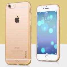 Husa / toc protectie HOCO originala, iPHONE 6 PLUS, back cover, culoare: GOLD - Husa Telefon Hoco, Auriu, Gel TPU