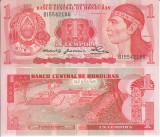 !!! RARR :  HONDURAS - 1 LEMPIRA 1980 - P 68a - UNC