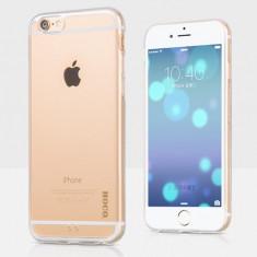 Husa protectie HOCO originala, iPHONE 6 PLUS, back cover, culoare: transparenta - Husa Telefon Hoco, Gel TPU