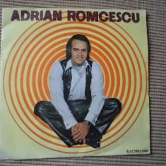 Adrian romcescu primul pas si formatia academica disc single vinyl Muzica Pop electrecord, VINIL
