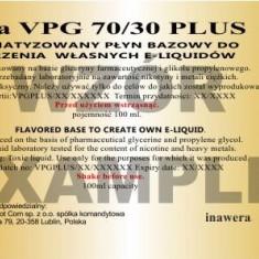Inawera - VPG 70/30 Plus 12mg - 100 ml - Lichid tigara electronica