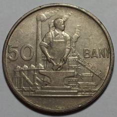 50 Bani 1955 Romania XF - Moneda Romania