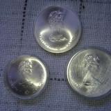 10 dollars canada 1973 (Montreal Olympiade) si 5 dollars canada 1973, America de Nord