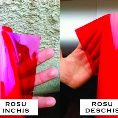 Folie stopuri / faruri / proiectoare - rosu inchis - ORACAL - 50 cm x 150 cm
