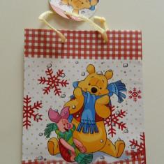 Plasa de cadouri, Winnie the Pouh, punga cadouri, pungi cadouri, calitate! - Ornamente Craciun