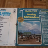 Country and western music greatest hits collection disc vinyl lp 20 hits muzica - Muzica Country, VINIL