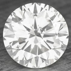 DIAMANT NATURAL ALB-certificat de autenticitate-0, 172ct.-3, 60 mm diametru-superb, Briliant