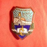 Insigna 200 Ani -Spitalul Clinic Iasi 1956