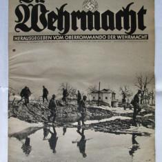 RARA! REVISTA WEHRMACHT NR.6 DIN 13 MARTIE 1940