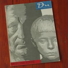 Revista DU - limba germana - revista de arta - nr 3 1958 - 78 pagini - Revista culturale