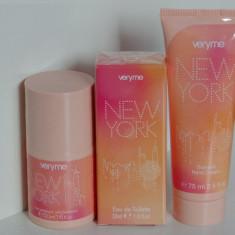 Set CADOU - New York pentru femei - produs NOU original ORIFLAME - Set parfum