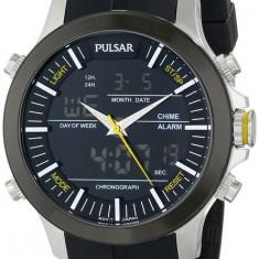 Pulsar PW6001 ceas barbati nou, 100% veritabil. Garantie.In stoc - Livrare rapida. - Ceas barbatesc Pulsar, Casual, Cauciuc, Analog