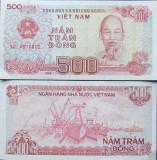 VIETNAM 1988 - BANCNOTA 500 DONG (UNC) - BC18
