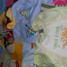 Vand lot hainute bebe 3-6 luni Zara, Culoare: Bleu, Compleuri, Bleumarin