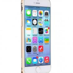 Husa/toc BUMPER ALUMINIU aviatie premium HOCO iPhone 6 PLUS ultra usor, AURIU - Husa Telefon Hoco, Metal / Aluminiu