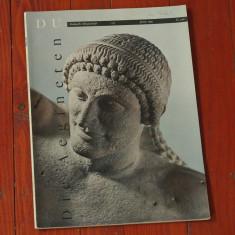 Revista DU - limba germana - revista de arta - 1959 - 78 pagini - Revista culturale
