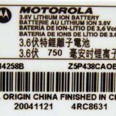 Baterie MOTOROLA AANN4258B V150 V180 V188 V220 C350 C650 Originala, Li-ion