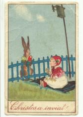 Paste 1927, circulata foto