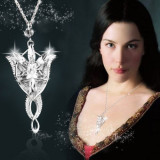 Pandantiv / Colier / Lantisor LORD OF THE RINGS LOTR - ARWEN EVENSTAR